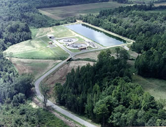Greenville Water Works treatment plant